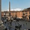 Piazza Navona, view from Palazzo Pamphilj