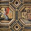 Pinturicchio, strop jednej z komnat Palazzo della Rovere (Palazzo dei Penitenzieri), fragment