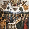 Pinturicchio, The Assumption of the Virgin Mary, fragment, Cappella Basso della Rovere, Basilica of Santa Maria del Popolo