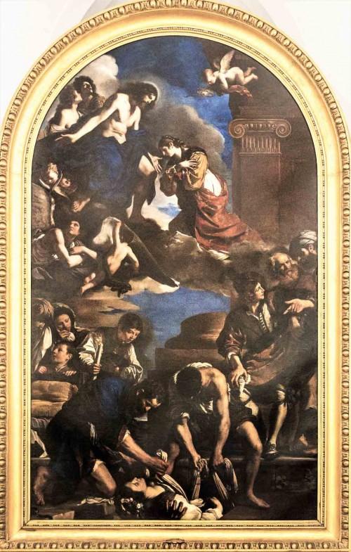 Pogrzeb św. Petroneli, Guercino, Musei Capitolini - Pinacoteca