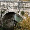 Ponte Rotto - the only preserved span of the ancient bridge from the times of the Republic