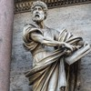 Porta del Popolo, strona północna, posąg św. Piotra, Francesco Mochi