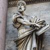 Porta del Popolo, southern side, statue of St. Peter, Francesco Mochi