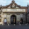 Porta del Popolo, widok od strony południowej