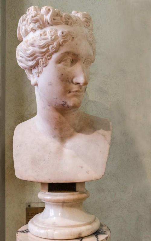 Pauline Borghese, naśladowca Antonio Canovy, około 1808 r., Museo Napoleonico