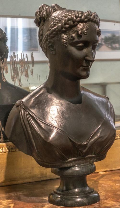 Pauline Borhese, popiersie, Pietro Marchetti, Museo Napoleonico