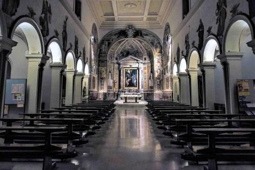 Wnętrze kościoła Santa Prisca