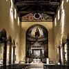 Kościół San Saba, wnętrze