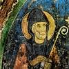 Św. Saba, kościół San Saba, fragment fresku