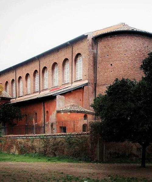 Apse of the Basilica of Santa Sabina on Aventine Hill