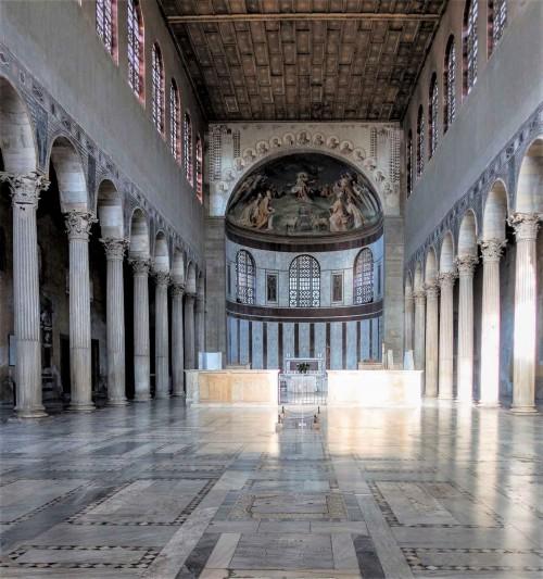 Santa Sabina, church from the V century