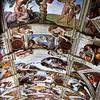 Kaplica Sykstyńska, sklepienie, fresk Michała Anioła