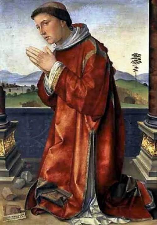 St. Stephen, Francesco Francia, Galleria Borghese, pic. Wikipedia