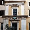 Nowożytna fasada kościoła San Stefano del Cacco