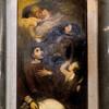 Św. Szczepan i św. Wawrzyniec otrzymują korony męczeństwa od anioła, kościół Santa Cecilia