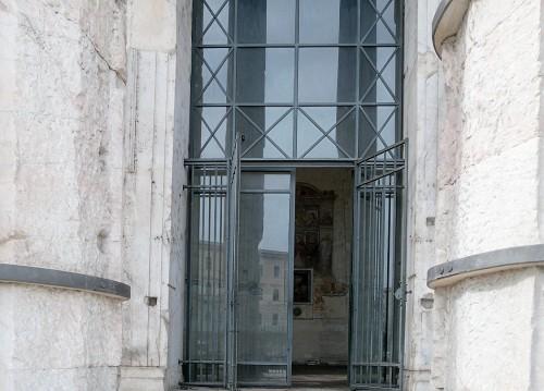 Wejście do świątyni Herkulesa na Forum Boarium