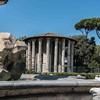 The Temple of Hercules, Piazza Bocca della Verità