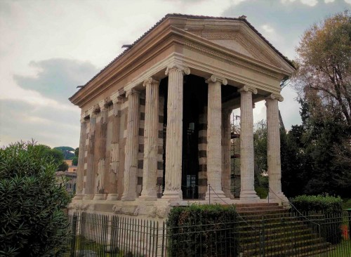 The Temple of Portunus on the old Forum Boarium