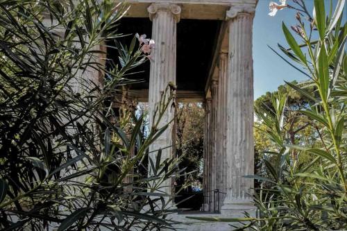 Świątynia Portunusa, portyk wejściowy