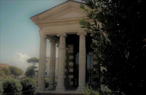 The Temple of Portunus, vestibule