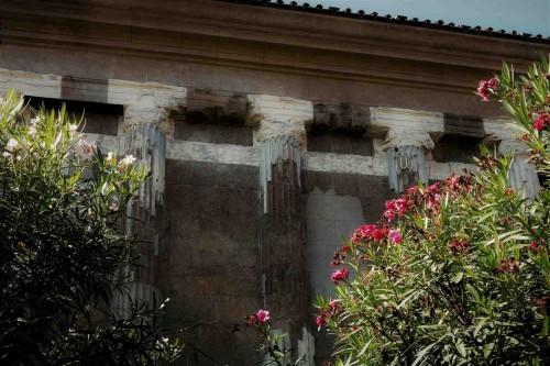 Świątynia Portunusa, widok ściany bocznej