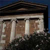 Świątynia Portunusa, dawne Forum Boarium, tył świątyni