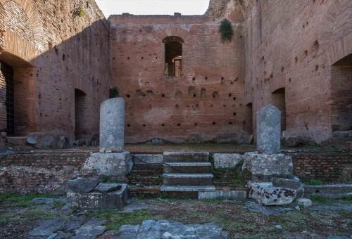 Atrium domu westalek przy świątyni Westy