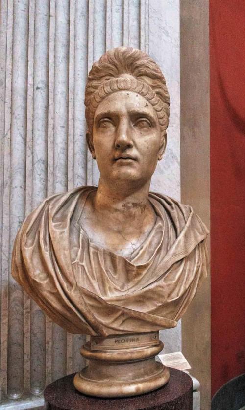 Plotina – the wife of Emperor Trajan, Musei Vaticani