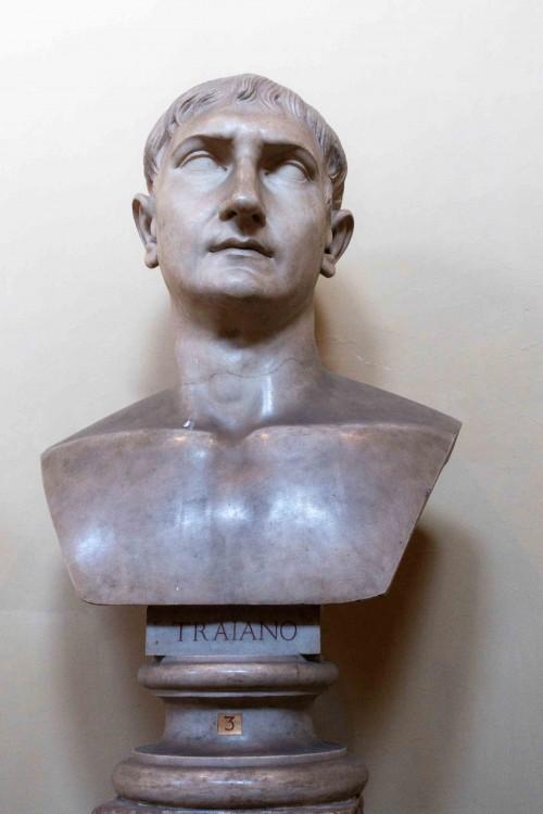 Bust of Emperor Trajan, Musei Vaticani