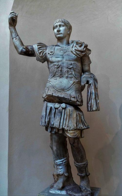 Statue of Emperor Trajan, Museo Ostia Antica