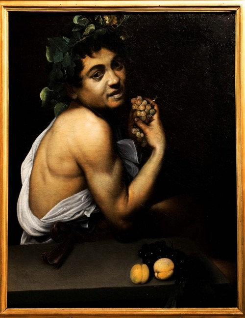 Sick Bachus, Caravaggio, Galleria Borghese