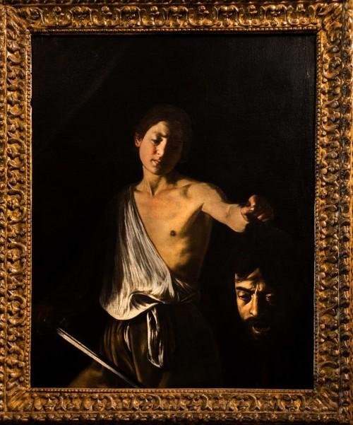 David with the Head of Goliath, Caravaggio, Galleria Borghese