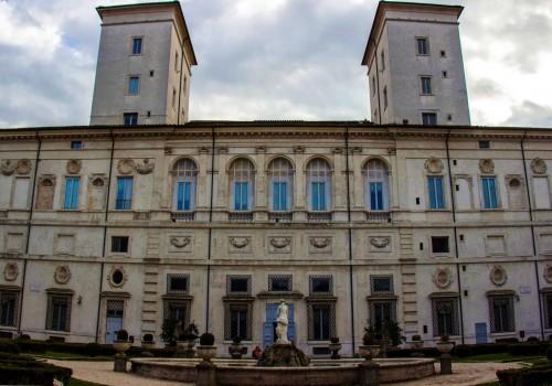 Galleria Borghese, fasada tylna