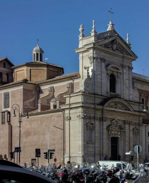Church of Sant Maria della Vittoria, façade