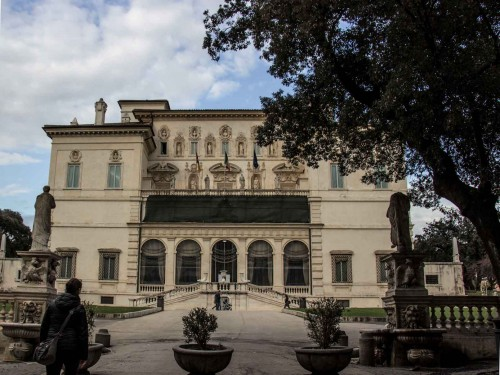 Noble Casino, main façade, presently Galleria Borghese