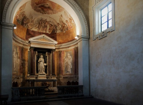 Oratorium Santa Silvia, fundacja kardynała Scipione Borghese