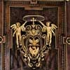 Sant'Andrea Oratory, ceiling decoration with the cardinal's coat of arms