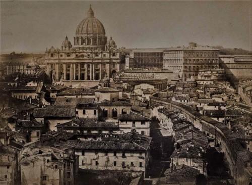Borgo prior to its modernization in the times of Benito Mussolini