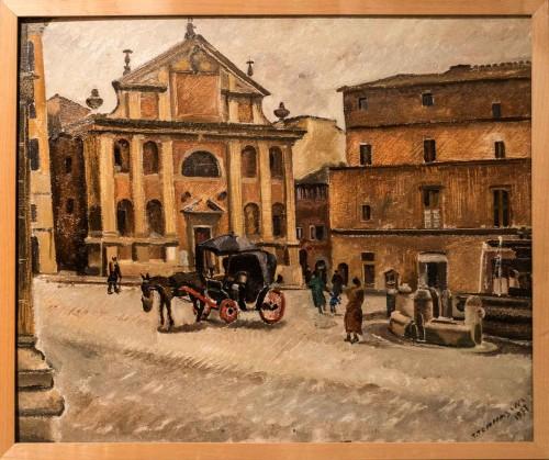 Kościół San Giacomo in Scossacavalli, XVIII w., na terenie dawnej spiny (wyburzony)
