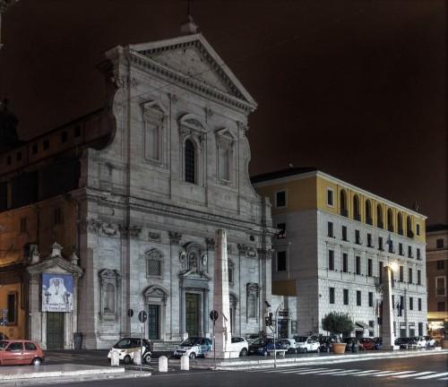 Via della Conciliazione, Church of Santa Maria in Traspontina
