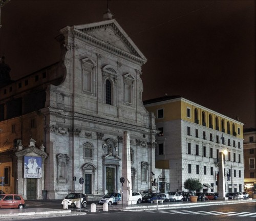 Via della Conciliazione, kościół Santa Maria in Traspontina