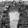 Koncepcja otwarcia bazyliki św. Piotra z 1776 r., zdj. Wikipedia, autor Cosimo Morelli