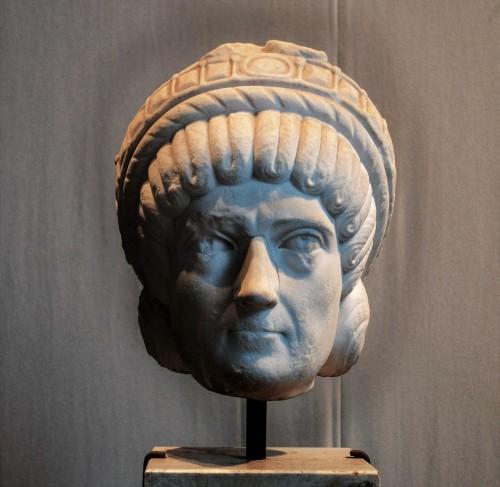 Najprawdopodobniej portret Galli Placydii, Museo Nazionale dell'Alto Medioevo