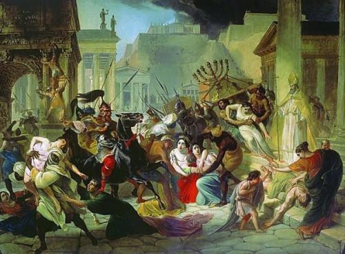 Genzeryk w Rzymie, Karł Briułłow, zdj. Wikipedia