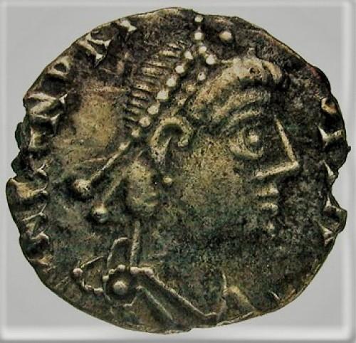 Moneta z wizerunkiem Genzeryka, zdj. Wikipedia