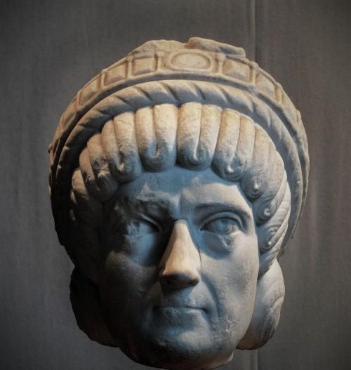 Domniemany portret Galli Placydii, Museo Nazionale dell'Alto Medioevo