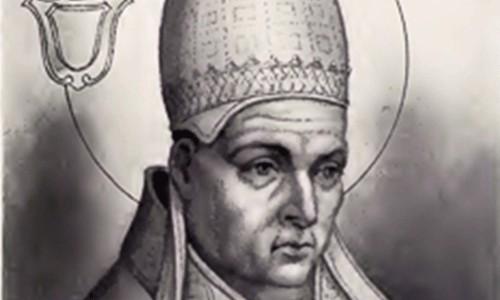 Domniemany wizerunek papieża Innocentego I, The Lives and Times of the Popes by Chevalier Artaud de Montor, zdj. Wikipedia