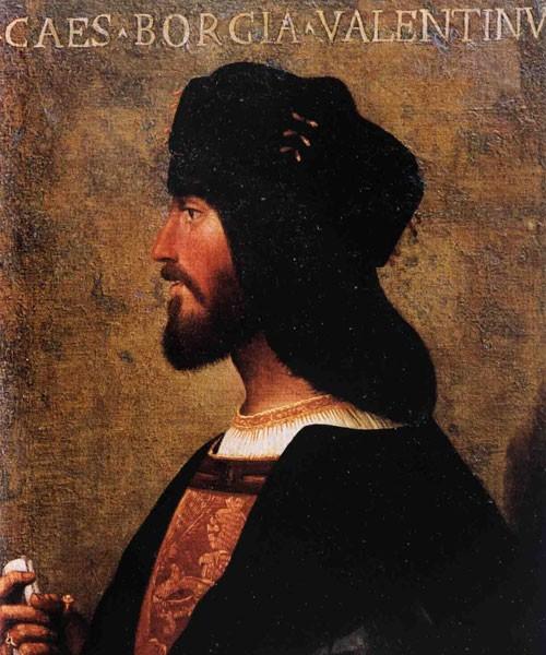Portret Cesare Borgii - księcia Valentino, Museo Nazionale del Palazzo di Venezia, autor nieznany, zdj. Wikipedia, autor Feuerrable.