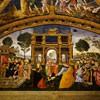 Apartamenty Borgii, pałac Apostolski, domniemany portret Cesare i Lukrecji Borgiów
