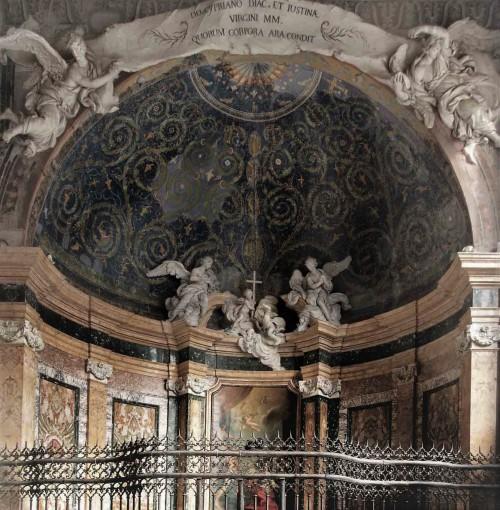 Baptysterium San Giovanni in Laterano, dawny przedsionek, obecnie kaplica śś. Justyny i Cypriana